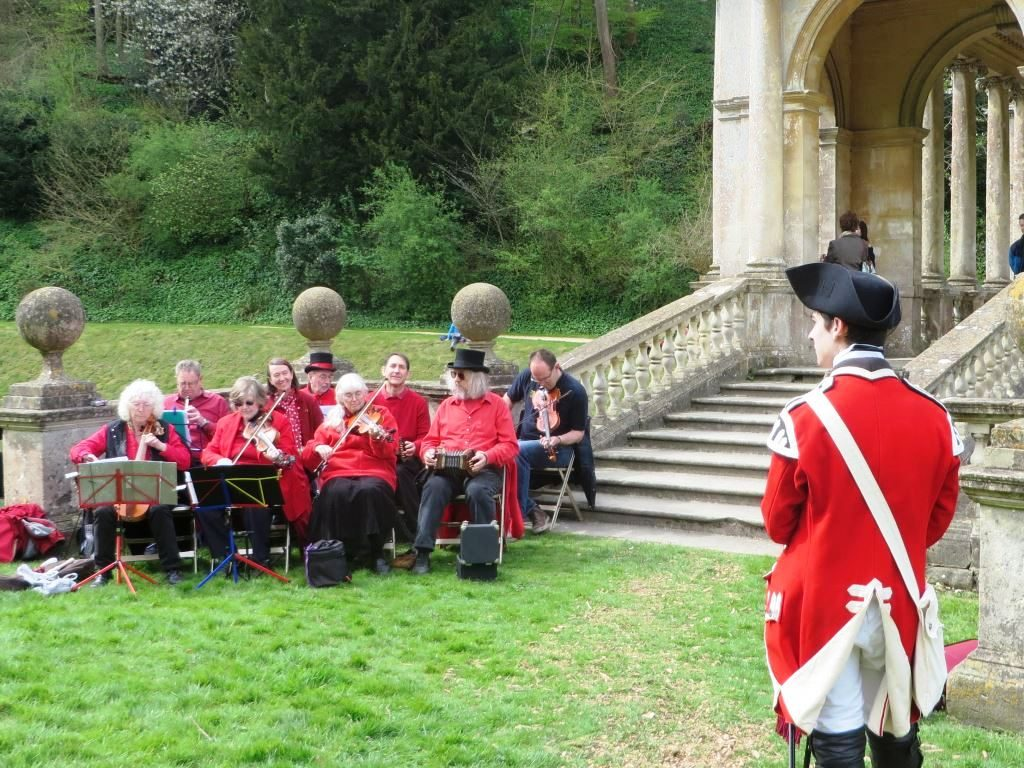 The Waits at World Heritage Day in Prior Park Gardens,